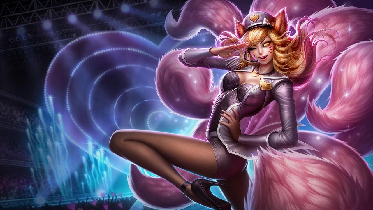 LoL - Popstar Ahri Art