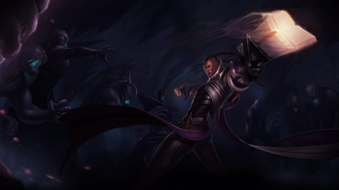 LoL Lucian Artwork